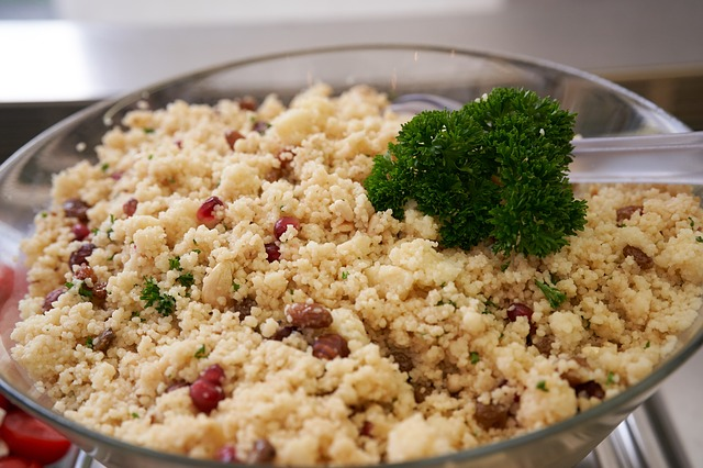 cooking couscous